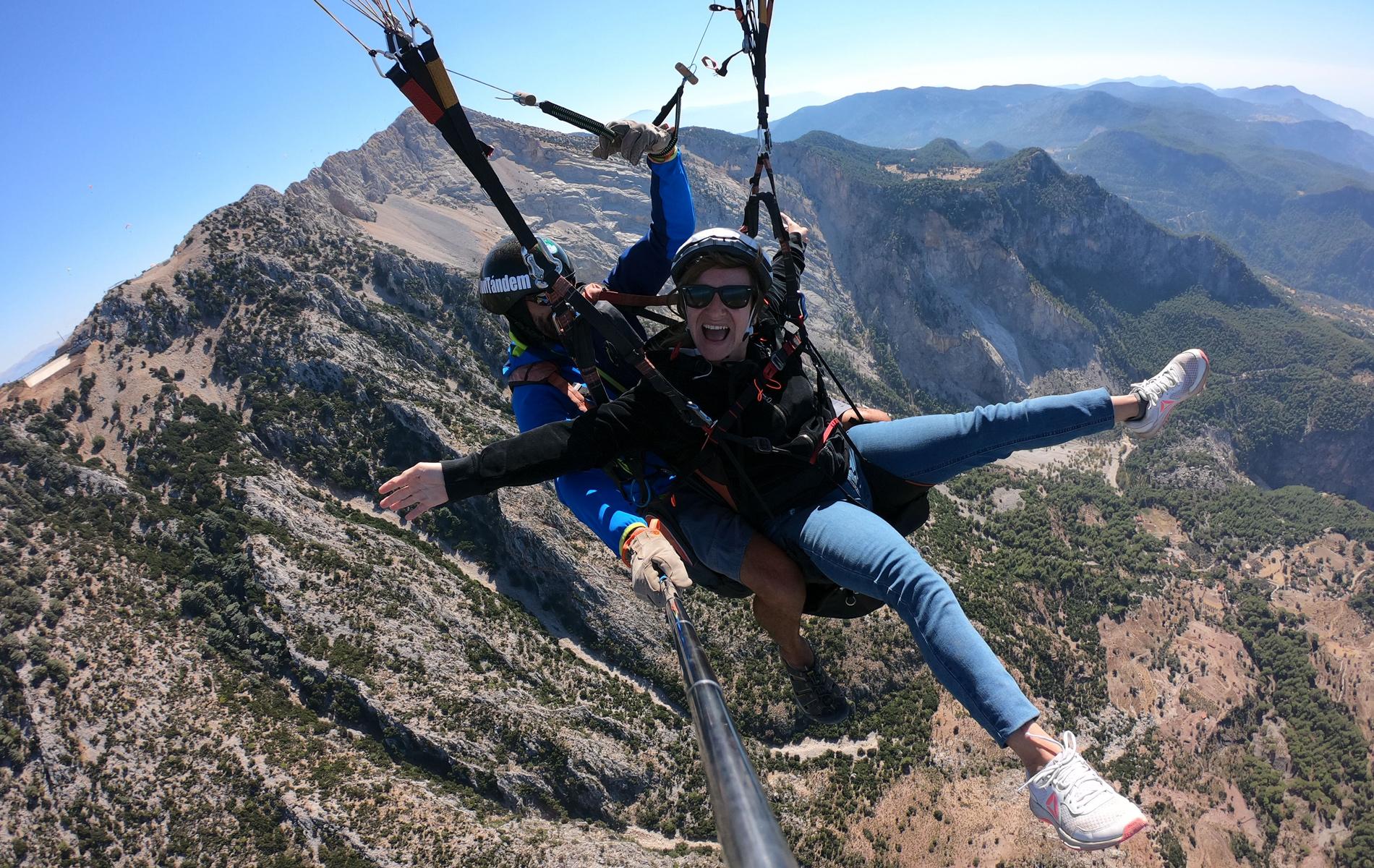 Preguntas sobre volar en parapente